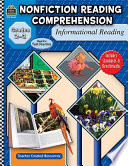 Nonfiction Reading Comprehension: Informational Reading, Grades 2-3