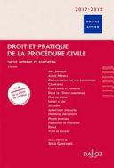 Droit Et Pratique De La Proc Dure Civile