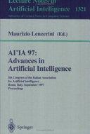AI*IA 97: Advances in Artificial Intelligence