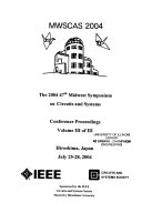 Proceedings of the     Midwest Symposium on Circuits and Systems
