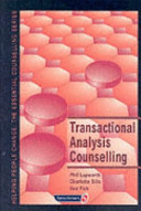 Transactional Analysis Counselling