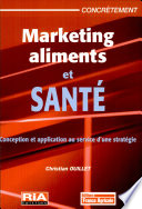 illustration du livre Marketing aliments et santé