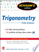 Schaum s Outline of Trigonometry 5 E  enhanced ebook