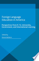 Foreign Language Education In America