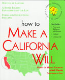 How to Make a California Will