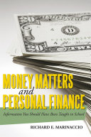 Money Matters and Personal Finance