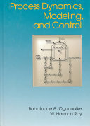 Process Dynamics  Modeling  and Control