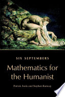 Six Septembers  Mathematics for the Humanist