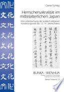 Herrschersakralit  t im mittelalterlichen Japan