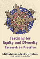 Teaching for Equity and Diversity   Research to Practice