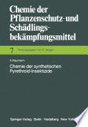Chemie der synthetischen Pyrethroid-Insektizide