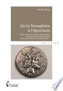 De la noosph  re    l apostasie