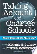 Taking Account of Charter Schools