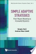 Simple Adaptive Strategies