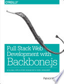 Full Stack Web Development with Backbone js
