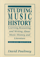 Studying Music History
