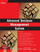 ADVANCED DATABASE MANAGEMENT SYSTEM  With CD