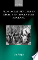 Provincial Readers in Eighteenth Century England