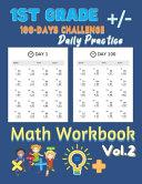 1st Grade Daily Practice Math Workbook