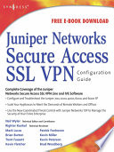 Juniper r  Networks Secure Access SSL VPN Configuration Guide