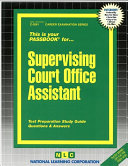 Supervising Court Office Assistant