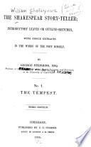 The Shakespear Story Teller