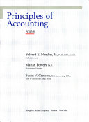 Principles of Accounting Complete with Student C D 8th Edition