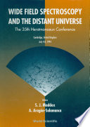 Wide Field Spectroscopy and the Distant Universe