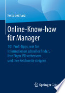 Online Know how f  r Manager