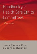 Handbook for Health Care Ethics Committees