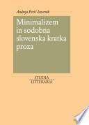 Minimalizem in sodobna slovenska kratka proza