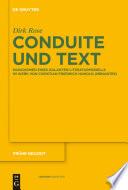 Conduite und Text
