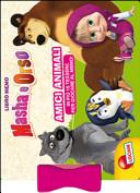 Masha e Orso  Amici animali  Con 16 tessere per giocare al memo
