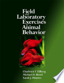 Field and Laboratory Exercises in Animal Behavior