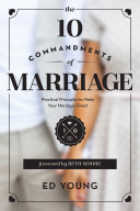 download ebook the 10 commandments of marriage pdf epub