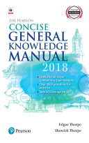 The Pearson Concise General Knowledge Manual 2018
