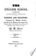 École anglaise, recueil de tableaux, statues et bas-reliefs des plus célèbres artistes anglais, depuis le temps d'Hogarth jusqu'à nos jours... accompagné de notices descriptives et historiques, en français et en anglais par G. Hamilton et publié sous sa direction