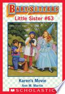 download ebook karen's movie (baby-sitters little sister #63) pdf epub