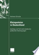 Kleinparteien in Deutschland