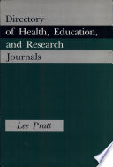 Directory of Health  Education  and Research Journals