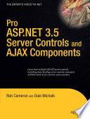 illustration Pro ASP.NET 3.5 Server Controls and AJAX Components