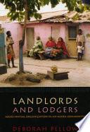 Ebook Landlords and Lodgers Epub Deborah Pellow Apps Read Mobile