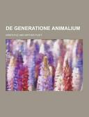 De Generatione Animalium