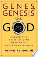 Genes  Genesis  and God
