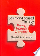 Solution Focused Therapy Book PDF