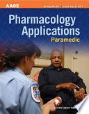 Paramedic Pharmacology Applications