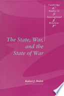 The State  War  and the State of War