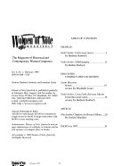 Women of Note Quarterly