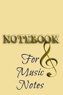 download ebook notebook for music notes pdf epub
