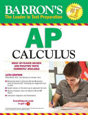 Barron s AP Calculus  12th Edition